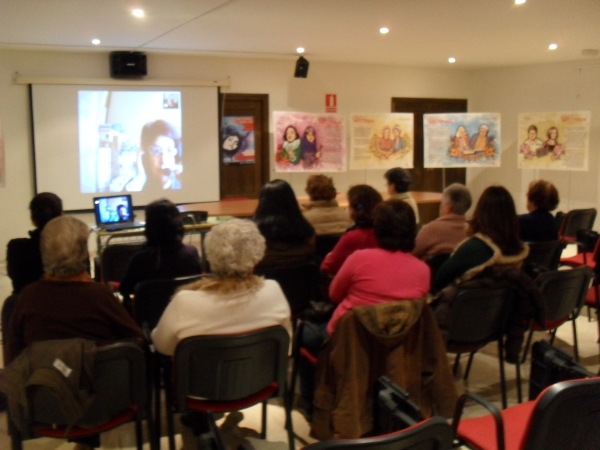 Videoconferencia con Bolivia dentro de la semana de la Mujer de Guadalupe