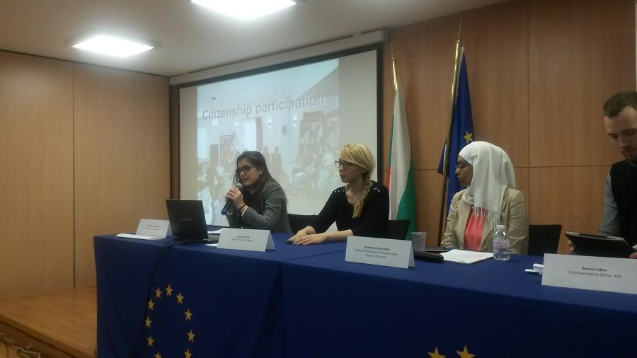 Fundación Ciudadanía participa en Bulgaria en un evento sobre derechos civiles de la ciudadanía europea.
