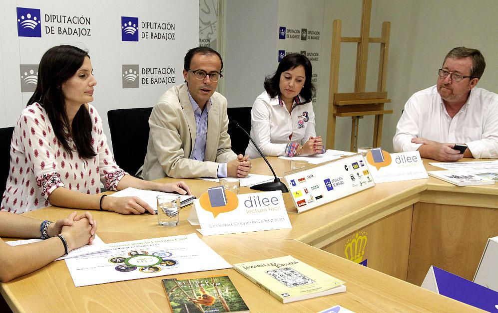 """Objetivo: promover la """"Lectura Fácil"""" en la provincia de Badajoz"""