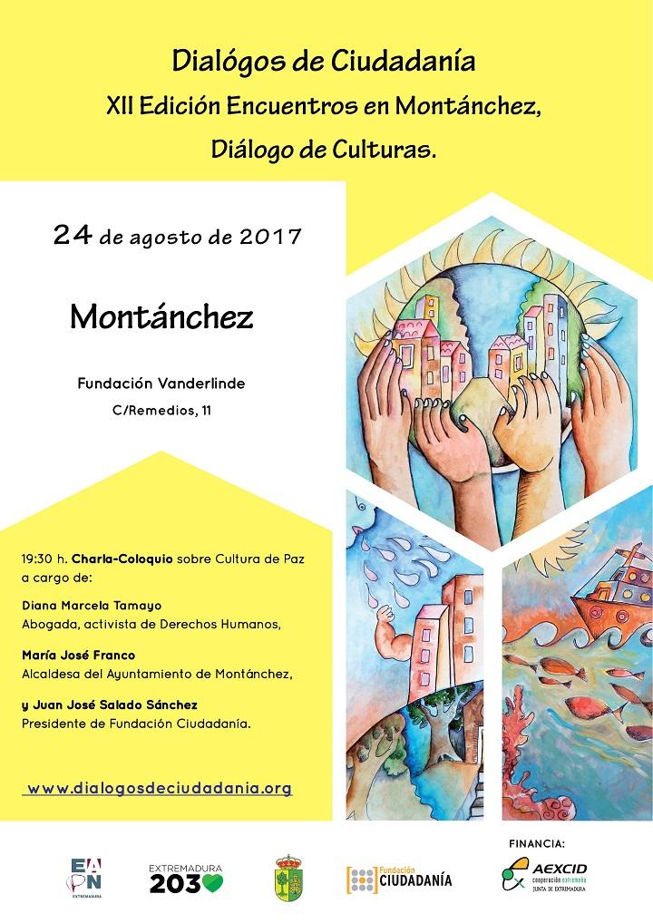 Diálogos de Ciudadanía y Cultura de Paz, en Montánchez