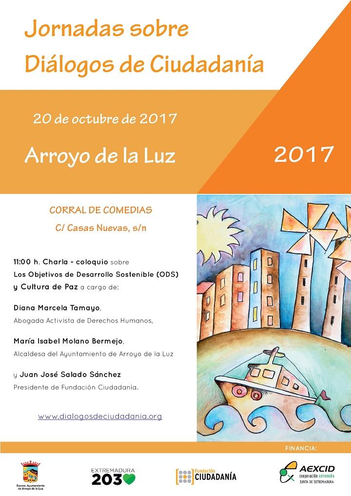 Diálogos de Ciudadanía, se traslada hoy 20 de octubre, a Arroyo de la Luz