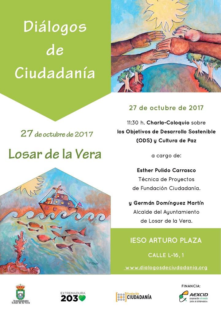 Losar de la Vera acogerá el Diálogo de Ciudadanía sobre los Objetivos de Desarrollo Sostenible mañana 27 de octubre.
