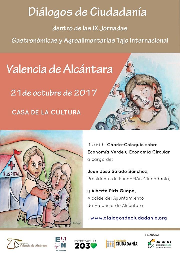 Economía Verde y Circular de manos de Diálogos de Ciudadanía en Valencia de Alcántara.