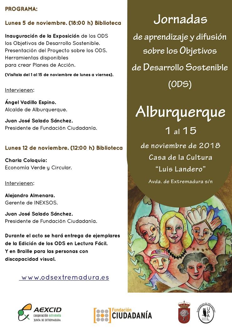 Los Objetivos de Desarrollo Sostenible en el municipio extremeño de Alburquerque.