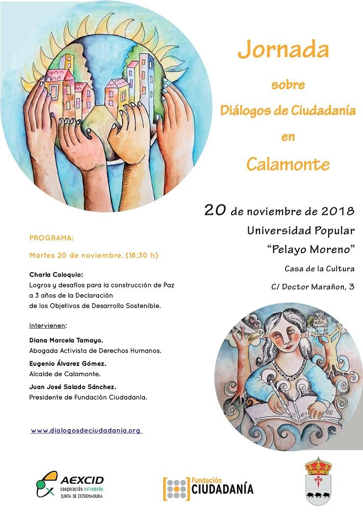 La Escuela Taller «Hacemos ciudad» de Calamonte asisten a un Diálogo de Ciudadanía.