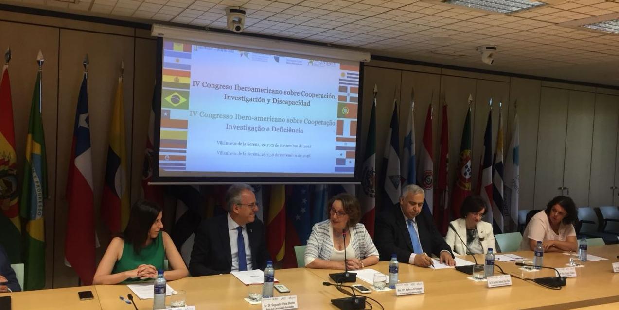 IV Congreso Iberoamericano sobre Cooperación, Investigación y Discapacidad.