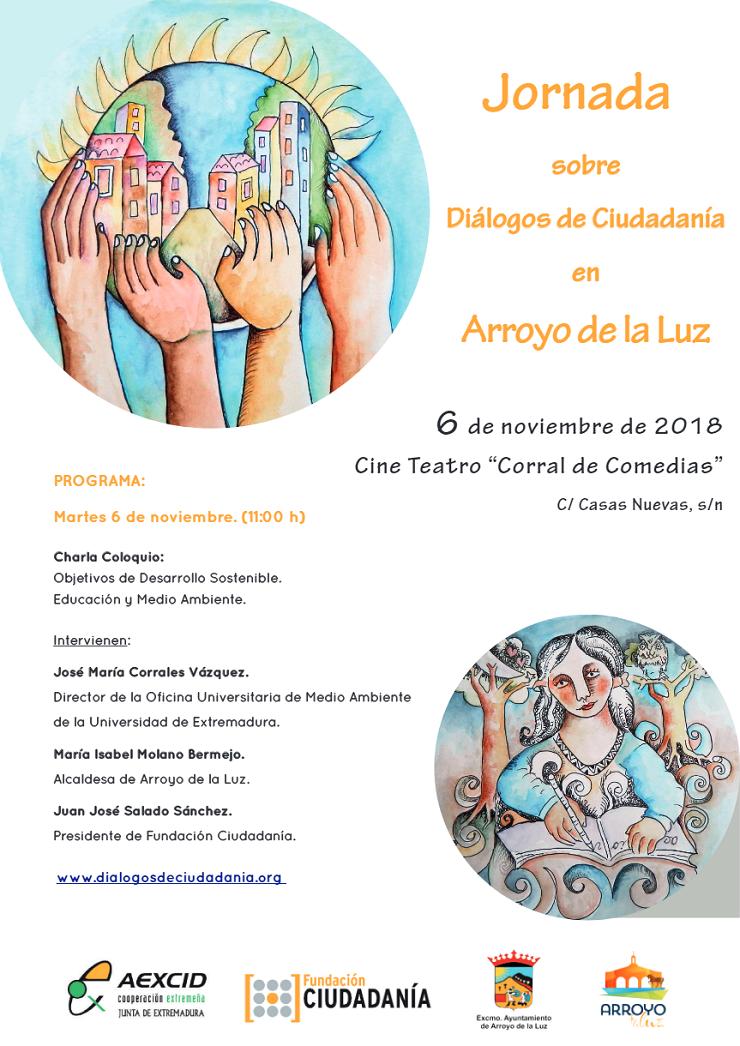 Primer Diálogo de Ciudadanía en Arroyo de la Luz.