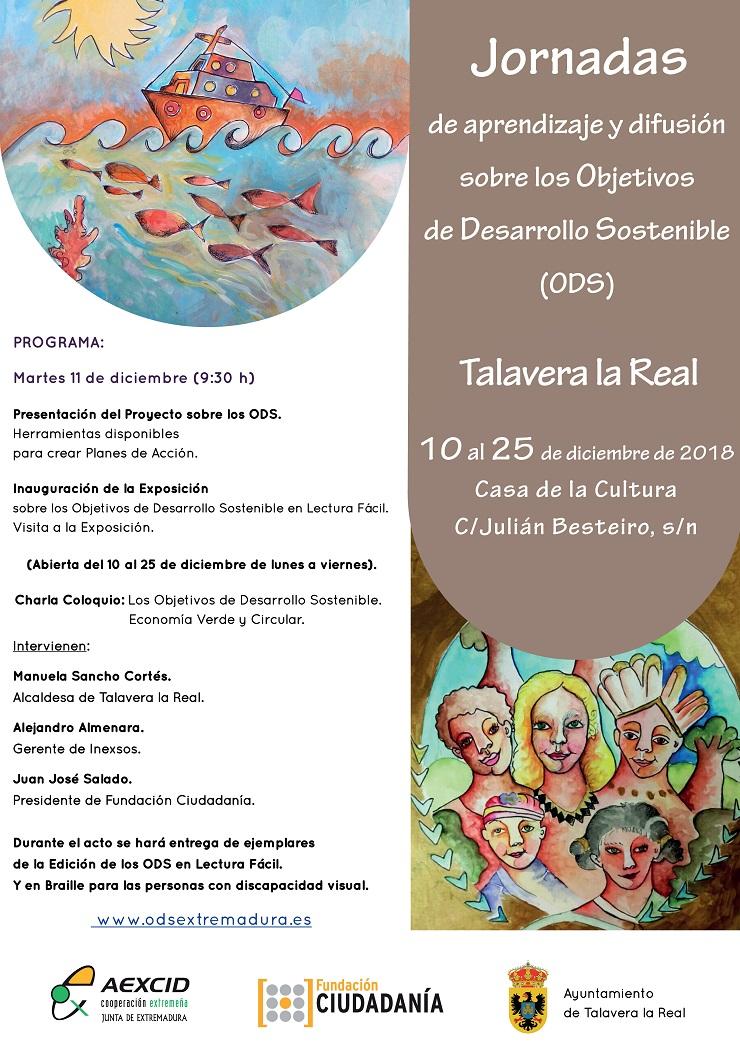 Jornada ODS en Talavera la Real.