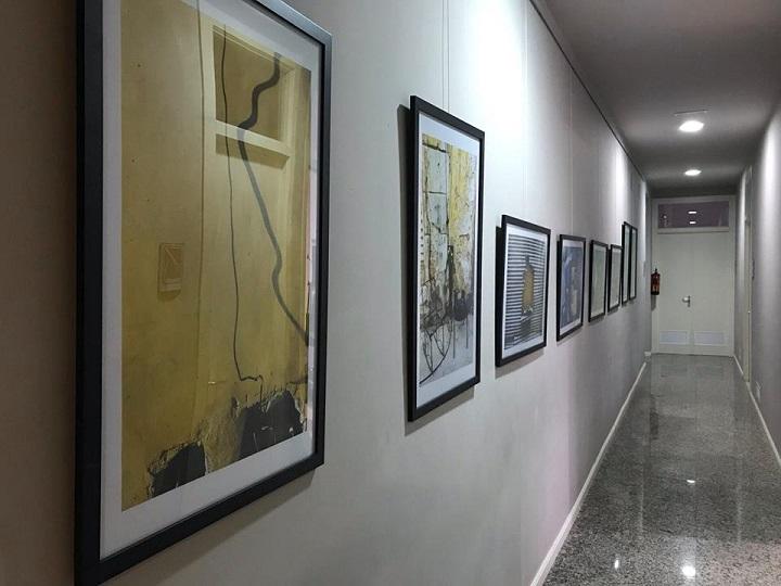 Inauguración de la exposición «8 días»