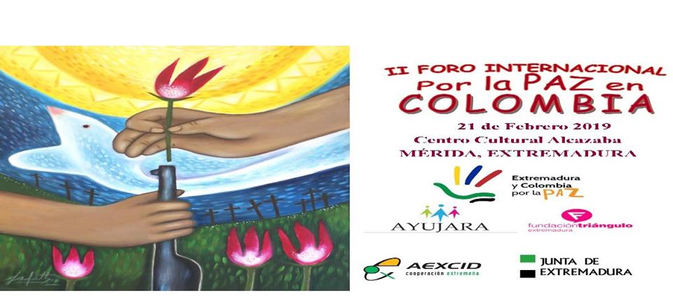 II Foro Internacional por la Paz de Colombia.