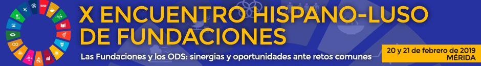 X Encuentro Hispano-Luso de Fundaciones.