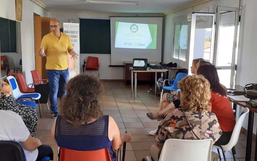 Talleres sobre Objetivos de Desarrollo Sostenible en Torrejoncillo